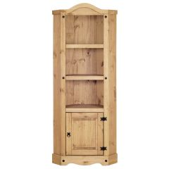Corona Corner Display Unit - Mexican Solid Pine