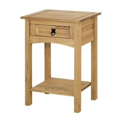 Corona 1 Drawer Console Table - Mexican Solid Pine