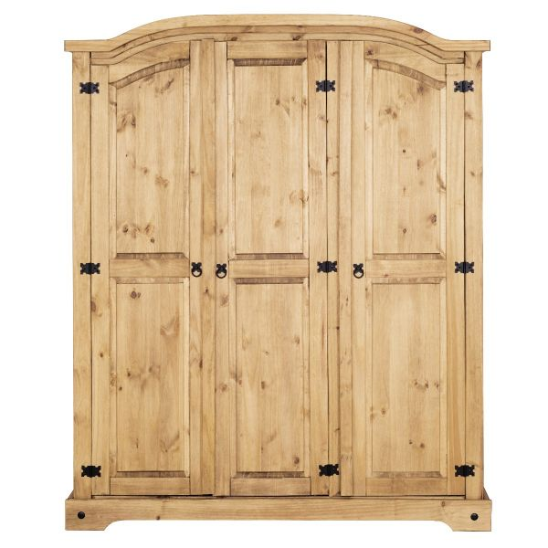 Corona 3 Door Triple Wardrobe