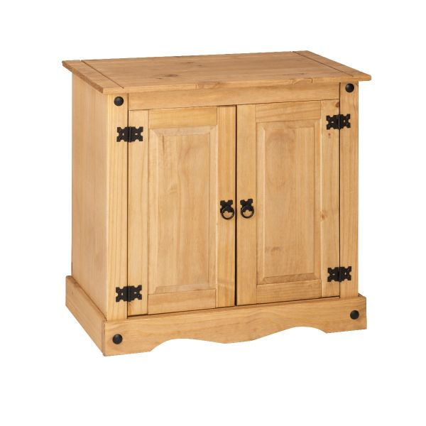 Corona 2 Door Small Sideboard - Mexican Solid Pine
