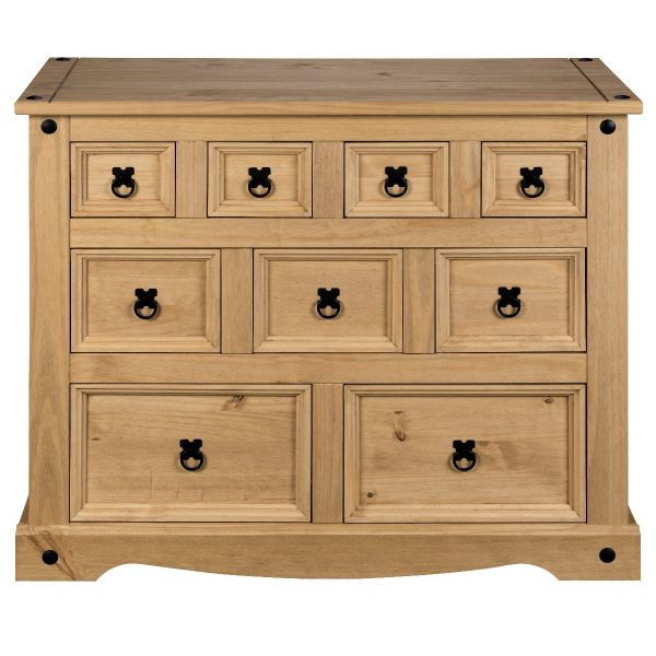 Corona Merchant Chest of Drawers - Mexican Solid Pine